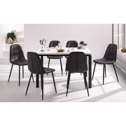 Стул Luna Chair Black